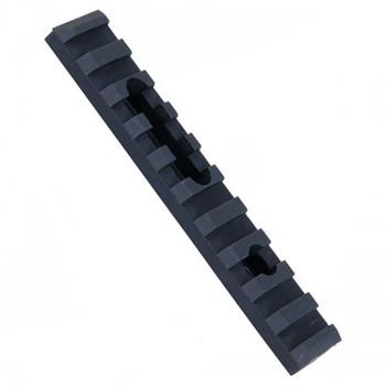 Ergo Grip Polymer Rail, 1 Mounting Hole, with Mounting Hardware, Black 4751, UPC :874748000031