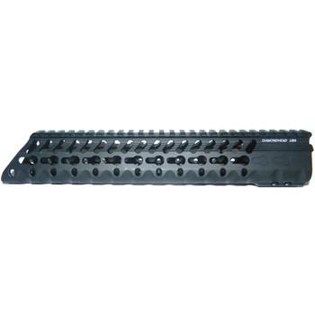 "Diamondhead USA, Inc. VRS-T Free-Floating KeyMod Handguard Rail, Fits AR-15, 10.25"", Black Finish 2215, UPC :857880003771"