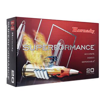 Hornady SuperFormance, 308WIN, 165 Grain, SST, 20 Round Box 80983, UPC : 090255809831