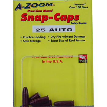 A-Zoom Snap Caps, 325 ACP, 5 Pack 15152, UPC :666692151521