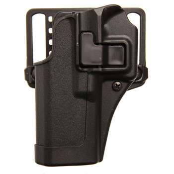 BLACKHAWK! CQC SERPA Holster With Belt and Paddle Attachment, Fits Beretta 92/96 (Excludes the Elite/Brig Models), Left Hand, Black 410504BK-L, UPC :648018013911