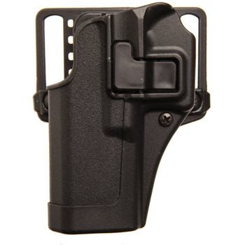 BLACKHAWK! CQC SERPA Belt Holster, Fits Glock 42 Left Hand, Black 410567BK-L, UPC :648018220081