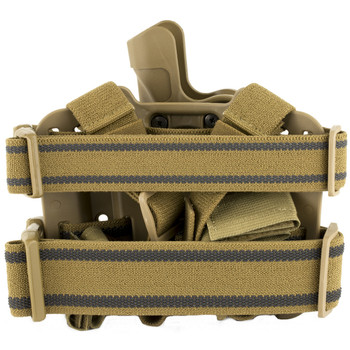 BLACKHAWK! Level 2 Tactical SERPA Holster, Fits Beretta 92/96 (not Elite/Brigadier or M9A1), Right Hand, Coyote Tan 430504CT-R, UPC :648018008771
