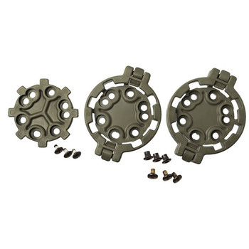 BLACKHAWK! SERPA Quick Disconnect Modular Drop-Leg Platform Kit, Includes 2 Female and 1 Male Adaptor, OD Green 430950OD, UPC :648018120251