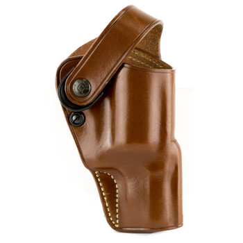 """Galco Outdoorsman Belt Holster, Fits S&W Governor 2 3/4"""", Right Hand, Tan DAO308, UPC :601299177451"""