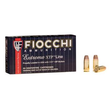 Fiocchi Ammunition Centerfire Pistol, 32 ACP, 60 Grain, XTP, 50 Round Box 32XTP, UPC :762344028781