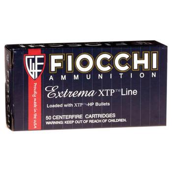 Fiocchi Ammunition Centerfire Pistol, 9MM, 124 Grain, XTP, 25 Round Box 9XTPC25, UPC :762344710501