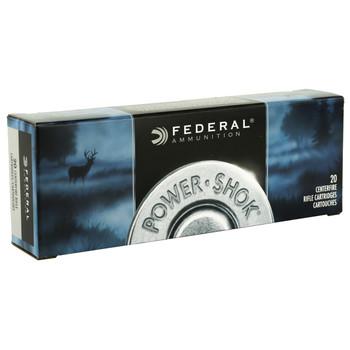Federal PowerShok, 270WSM, 130 Grain, Soft Point, 20 Round Box 270WSME, UPC : 029465097271