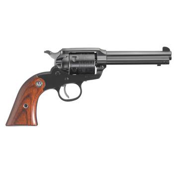"Ruger Bearcat, Single-Action Revolver, 22 LR, 4.2"" Barrel, Blued Finish, Alloy Steel, Hardwood Grips, Internal Notch Rear & Blade Front Sight, 6Rd 00912, UPC :736676009121"