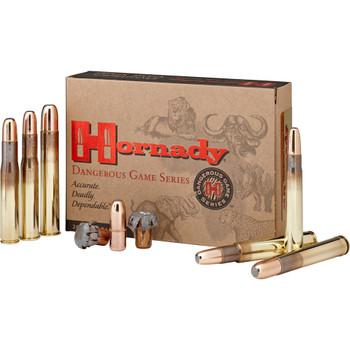 Hornady Dangerous Game, 458 Win, 500Gr, DGX Bonded, 20 Rounds Per Box 85834, UPC : 090255858341