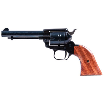 """Heritage Rough Rider, Single Action Army Revolver, 22LR/22WMR, 4.75"""" Barrel, Alloy Frame, Blue Finish, Cocobolo Grips, Fixed Sights, 9Rd 22999MB4, UPC :727962500521"""