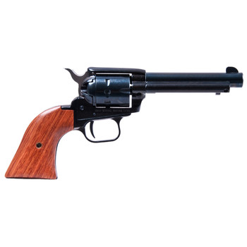 "Heritage Rough Rider, Single Action Army Revolver, 22LR/22WMR, 4.75"" Barrel, Alloy Frame, Blue Finish, Cocobolo Grips, Fixed Sights, 9Rd 22999MB4, UPC :727962500521"