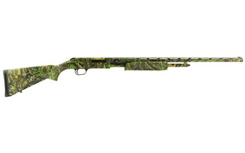 "Mossberg 500, Pump, 410Ga 3"", 26"", Mossy Oak Obsession, Synthetic, Right Hand, Fluted, Full Fixed, 5Rd, Fiber Optic 50110, UPC : 015813501101"