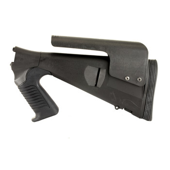 Mesa Tactical Urbino Tactical Stock, Fits Remington 870 12 Gauge, Fixed Length, Fits with a Tactical Length of Pull, Riser, Limbsaver, Black 91550, UPC :878405001911