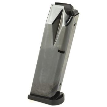 Armscor Magazine, Fits Beretta 92, 9MM, 15 Round, Nickel Finish 49215, UPC :812285023441