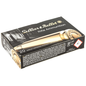 Sellier  Bellot Rifle, 7X57, 139 Grain, Soft Point, 20 Round Box SB757B, UPC :754908511891