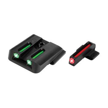Truglo Brite-Site Fiber Optic Sight, Fits SW MP, Green TG131MP, UPC :788130012581