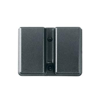 Uncle Mike's Kydex Belt Case, Fits Double Stack/Double Magazine, Black 5136-1, UPC : 043699513611