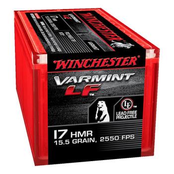 Winchester Ammunition Rimfire, 17HMR, 15.5Grain, NTX, Lead Free, 50 Round Box S17HMR1LF, UPC : 020892102781