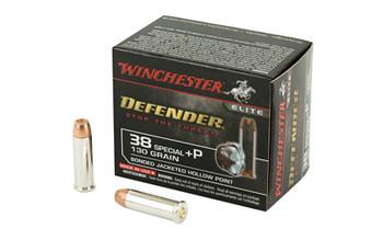 Winchester Ammunition Supreme Elite, 38 Special, +P 130 Grain, PDX1, 20 Round Box S38PDB, UPC : 020892217911