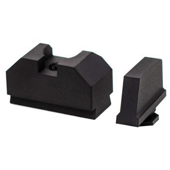 ZEV Technologies Sight Set, .300 Black Front, Co-Witness Black Rear SIGHT.SET-300-CW-B-CW-B, UPC :811745023571