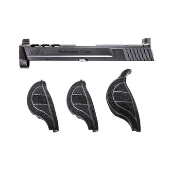 "Smith  Wesson MP Performance Center Slide Kit, Black Finish, 9mm, 4.25"" Ported Barrel, For MP Pistols with Magazine Safety 11549, UPC : 022188869071"