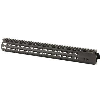 "Leapers, Inc. - UTG Handguard, Fits AR Rifles, 15"" Super Slim, Free Float Keymod, Black MTU019SSK, UPC :4717385550261"