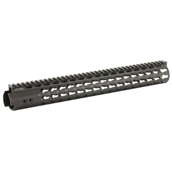 "Leapers, Inc. - UTG Handguard, Fits AR Rifles, 15"" Super Slim, Free Float Keymod, Black MTU019SSK, UPC :4717385550261"