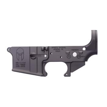 Spike's Tactical Spartan, Semi-automatic, Lower, 223 Rem, 556NATO,Black, Non-Color STLS021, UPC :855319005051