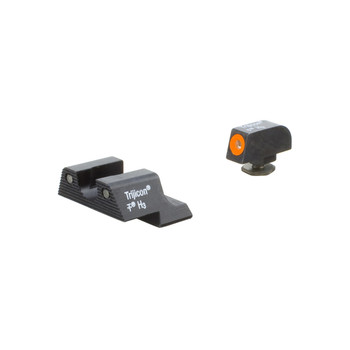 Trijicon HD Night Sight, Fits Glock 42 and 43, Orange Outline GL113-C-600785, UPC :719307212701