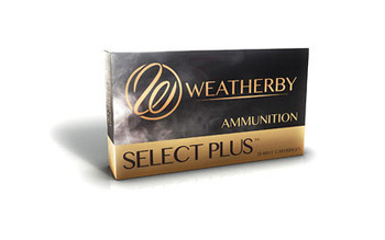 Weatherby Select Plus Ammunition, 300 Weatherby, 180 Grain, Barnes Tipped Triple Shock X, 20 Round Box B300180TTSX, UPC :747115416271