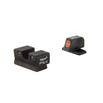 Trijicon HD Tritium Night Sight, Fits Sig P220,229, Orange Outline SG103O, UPC :719307209831