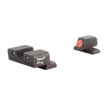 Trijicon HD Night Sights, Fits Springfield XD, Orange Outline SP101O, UPC :719307209671