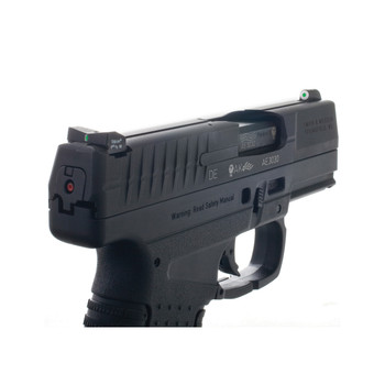 XS Sights XS Sights, DXT Big Dot Tritium Front, White Stripe Express Rear, Fits Walther PPS, PPS M2, CCP, Green with White Outline, Installation Kit Included WT-0002S-5, UPC :647533039031