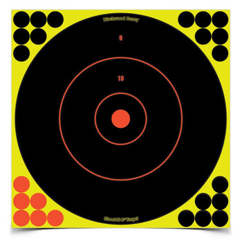 Birchwood Casey Shoot-N-C 12in Round Bullseye-50 Targets, UPC : 029057340501
