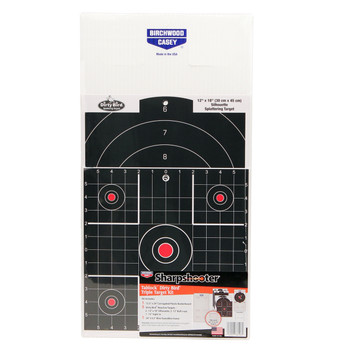 BC Sharpshooter Tab-Lock Dirty Bird Assorted Target Kit, UPC : 029057381061