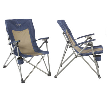 Kamp-Rite 3 Position Hard/Arm Reclining Chair w/Cup Holder, UPC : 095873010331