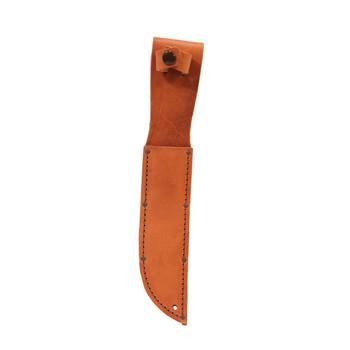 Ka-Bar Full-Size Plain Brown Leather Sheath, UPC :617717112171