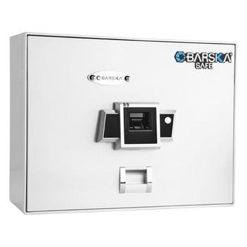 Barska BX200 Top Opening Biometric Security Safe-White, UPC :790272000821