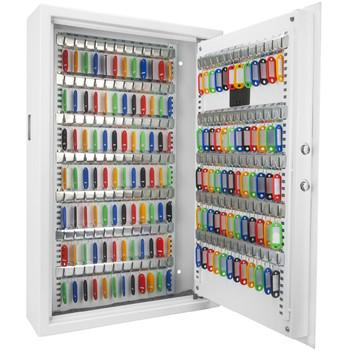 Barska 144 Key Digital Keypad Wall Key Safe-White, UPC :790272002061