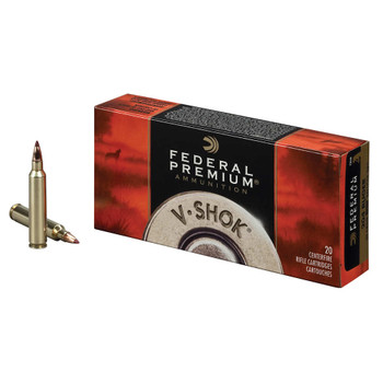 Federal Premium V-Shok Ammunition 204 Ruger 32 Grain Nosler Ballistic Tip Box of 20, UPC : 029465098971