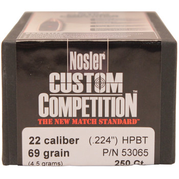 22 Cal 69gr CustCmp HPBT (250 ct), UPC : 054041530651