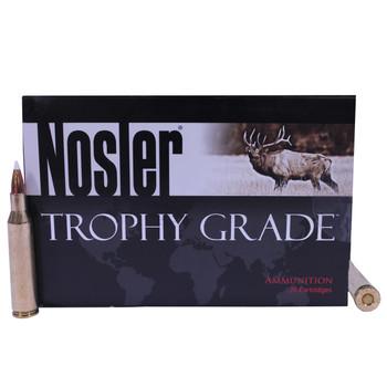 Nosler Trophy Grade Ammunition 257 Roberts +P 110 Grain AccuBond Box of 20, UPC : 054041600101