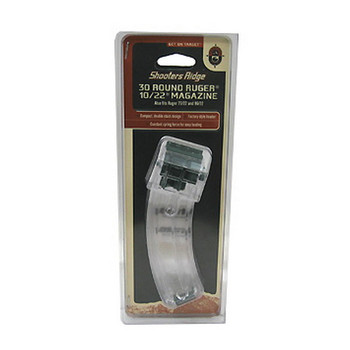 Champion Magazine Ruger 10/22 22 Long Rifle 30-Round Polymer Clear, UPC : 076683404251