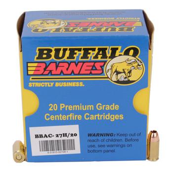 Buffalo Bore Ammunition 380 ACP +P 80 Grain Barnes TAC-XP Hollow Point Lead-Free Box of 20, UPC :651815027081