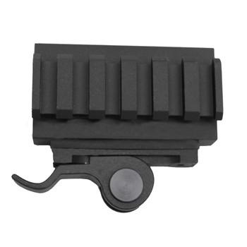"AimShot Picatinny-Style Quick-Release Riser Mount 2 1/4"" Length 14mm Rise Aluminum Matte, UPC :669256611721"