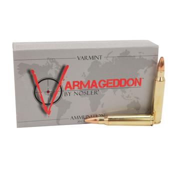 Nosler Varmageddon Ammunition 223 Remington 62 Grain Hollow Point Flat Base Box of 20, UPC : 054041402231