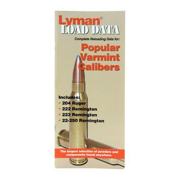 Lyman Load Data Book 20, 22 Caliber Rifle, UPC : 011516900081