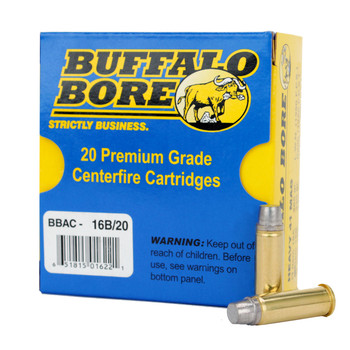 Buffalo Bore Ammunition Outdoorsman 41 Remington Magnum 230 Grain Lead Keith-Type Semi-Wadcutter Box of 20, UPC :651815016221