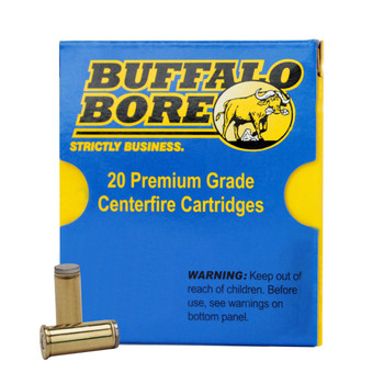 Buffalo Bore Ammunition 44 Special 200 Grain Hard Cast Lead Wadcutter Anti-Personnel Box of 20, UPC :651815004471
